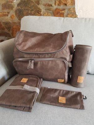 sac à langer et ses accessoires